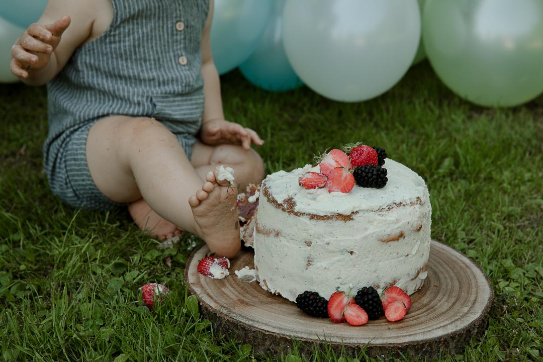 photographe smash the cake